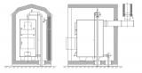 Наружный котел Т-100АМК (Стандарт)